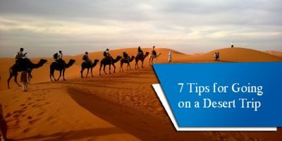 7 Tips for Going on a Desert Trip